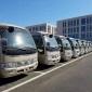 中巴车出租机构 19座丰田考斯特中巴车出租 酒店机场接送中巴车 租车便捷